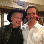 Pink (Alecia Moore) with Christopher Rob Bowen hanging out at one of our favorite wineries.